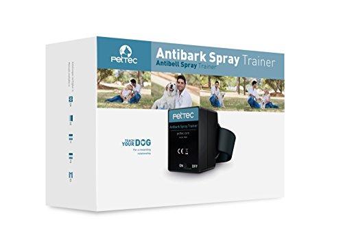 PetTec Antibell Spray Trainer Pro Erziehungshalsband mit automatischer Sprühfunktion inkl. Antibell Spray + 1 Gratisspray - 7