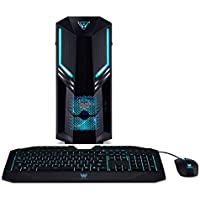 Acer Predator Orion 3000 Desktop PC (Intel Core i7-8700, 16GB RAM, 2000GB HDD, 512GB SSD, Nvidia GeForce GTX 1070, Win 10) schwarz/blau
