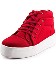FASHIMO High Ankle Casual Sneakers for Women