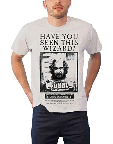Harry Potter Sirius Schwarz Have You Seen This Wizard offiziell Herren Weiß T