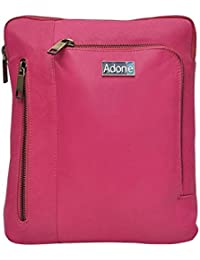 Adone Leather Pink Sling Bag