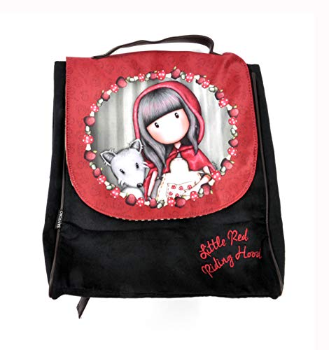 �ner Rucksack Little Red Riding Hood 28 x 32 x 12 cm schwarz ()