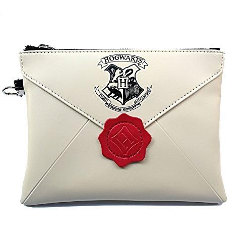Frauen Brieftaschen für Harry Potter Fans Design Hogwarts Brieftasche Armband Geldbörse für Frauen Phone Key kosmetische Clutch Taschen (Armband-clutch-brieftasche)