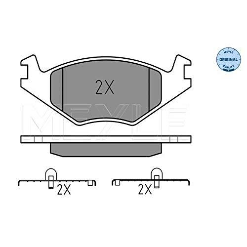 Meyle 025 208 8715 Kit de plaquettes de frein, frein à disque