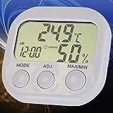 AFGD Digitales Thermometerthermomètre Intérieur Mini Thermomètre Numérique Et Écran Lcd