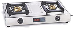 Glen Alda Kitchen CTA 123 SSAL Stainless steel Fuel efficient brass burners Gas Stove