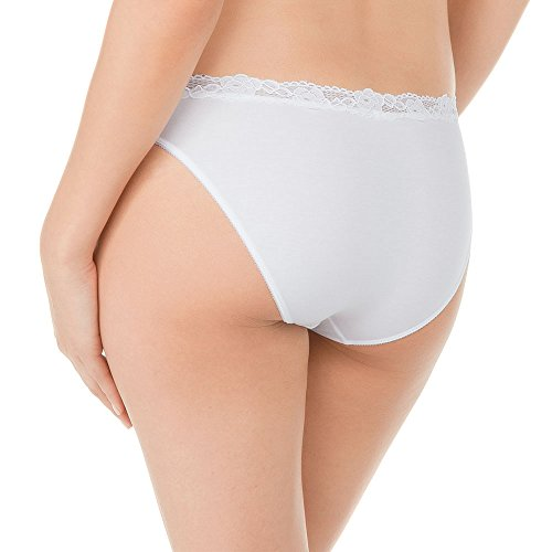 Calida Damen Slip Weiß (weiss 001)