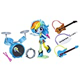 Hasbro My Little Pony My Little Pony Equestria Girls Minis Story Pack Set di Personaggi Rainbow Dash Music Class