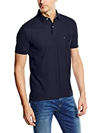 Tommy Hilfiger 867878433403 - Polo - Uni - Manches courtes - Homme