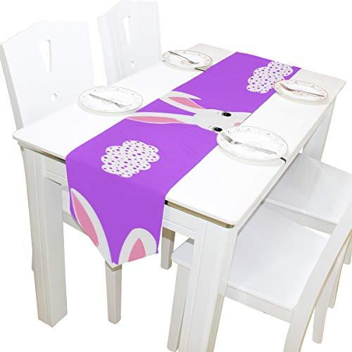 toon Nette Kommode Schal Tuch Abdeckung Tischläufer Tischdecke Tischset Küche Esszimmer Wohnzimmer Hause Hochzeitsbankett Decor Indoor 13x90 Zoll ()