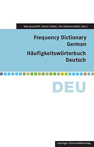 Frequency Dictionary German (Frequency Dictionaries)