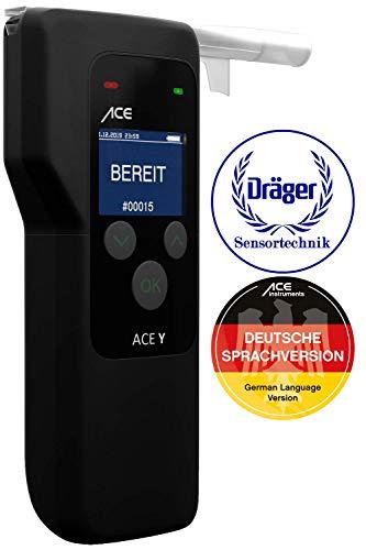 ACE Y - Offizieller Nachfolger des Dräger Alcotest 3000 - Alkoholtester mit Dräger-Polizei-Sensor