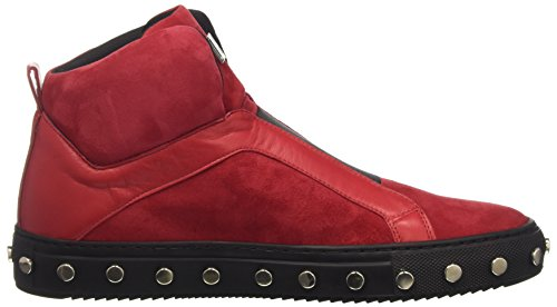 Bikkembergs Doll-Er Db 796 Mid Shoe W Suede/Leather, Scarpe a Collo Alto Donna Rosso