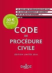 Code de procédure civile 2015. Édition limitée - 106e éd.