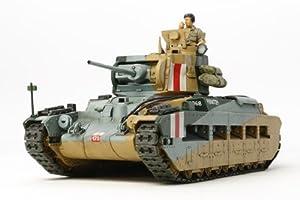 Tamiya - Maqueta Para Montar Tanque Británico Matilda MK III/IV Escala 1/48 (Tamiya-32572)