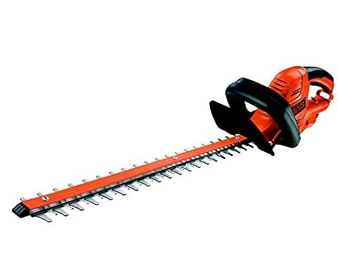 Black + Decker 600W Electric Hedge Trimmer 60cm Blade Length
