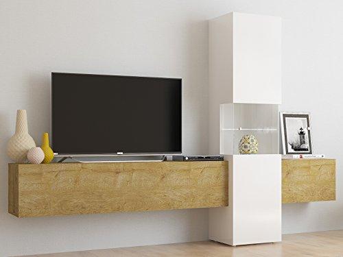 """Wohnwand Wohnzimmerschrank Fernsehschrank Mediawand TV Schrank \""""Incontro III\"""""""
