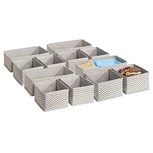 MDesign Juego 12 cajas organizadoras cuarto