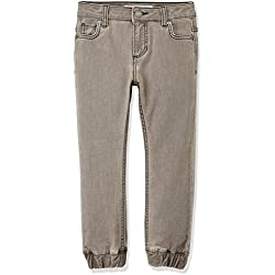 RED WAGON Boy's Jeans with Jogger Cuff Detail , Grey, 4 Years