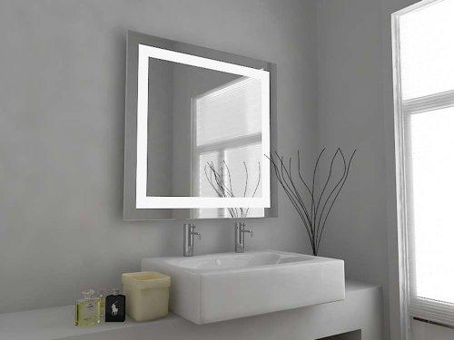 Modern Mirror Design Specchio Da Bagno Illuminato Al Led