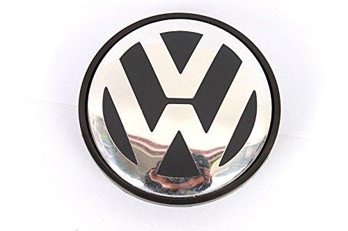 1 x 65 mm bouchon moyeu de roue Centre Noir Logo Emblème