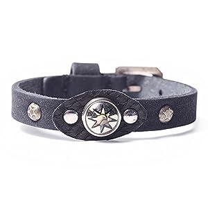 Noosa Petite Oshun Armband mit Chunk Limited Edition in Giftbox schwarz, Größe:M