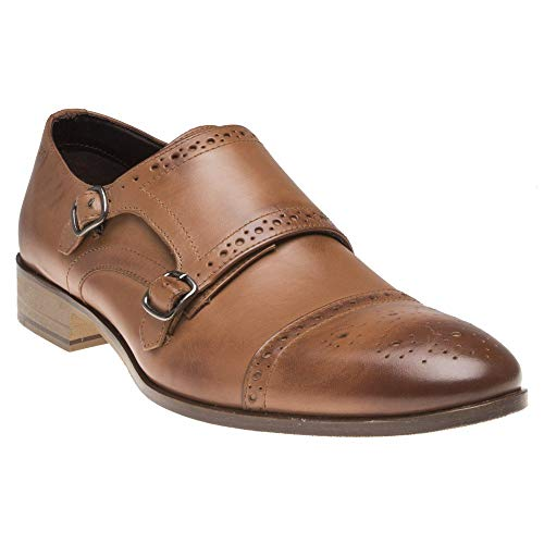 London Brogues Wister Homme Chaussures Fauve