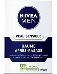 Nivea Men Baume Après-Rasage Peau Sensible 100 ml - Lot de 2