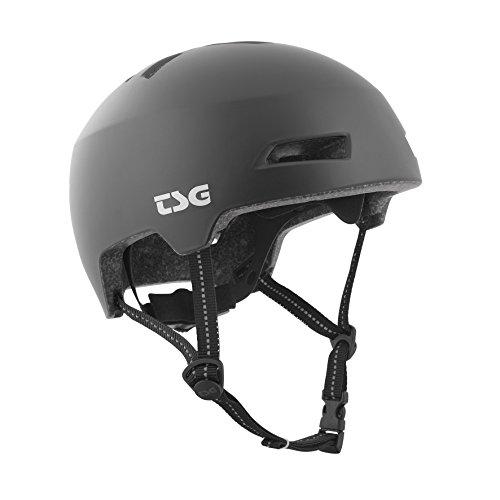 TSG Helm Status Solid Color Halbschalenhelm, satin black, L/XL