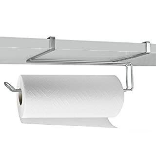 Metaltex Paper Holder Easy Roll, Metal, Silver, 35 x 18 x 10 cm