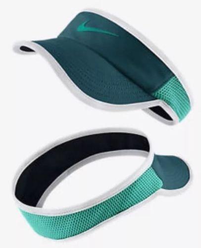 Nike W Nk Arobill Fthrlt Visor Casquette pour femme Azul (Midnight Turq / Black / White / Rio Teal)
