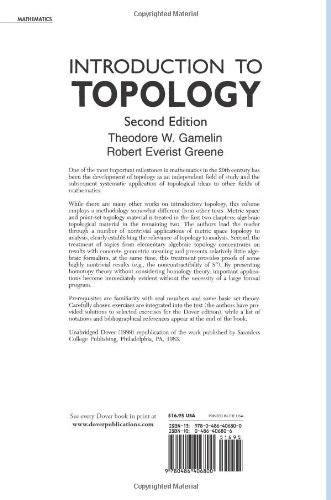 Introduction to Topology (Dover Books on Mathematics)