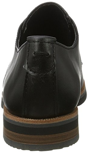 Marco Tozzi 23201, Scarpe Oxford Donna Nero (Black Antic)