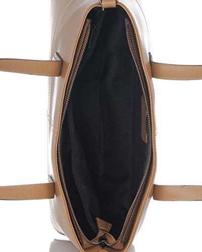 Laura Moretti - Borsa in pelle con aghi Leather