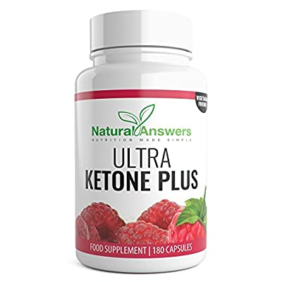 Raspberry Ketone 3 Months Supply Ultra Ketone Plus 180 Vegetarian Tablets Raspberry Ketone Green Tea Extract Capsules with Apple Cider Vinegar from Natural Answers