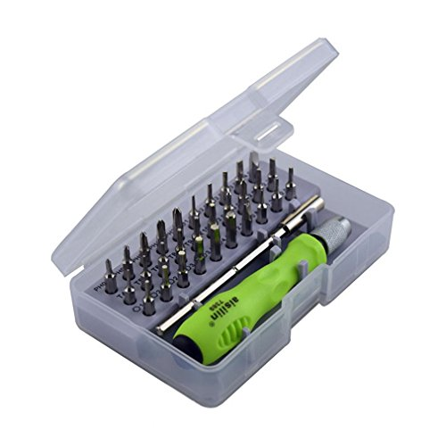 OurLeeme Schraubendreher-Set, 32 in 1 Schraubendreher-Set mit Mini-Mini-Reparatur-Werkzeugkit oder Reparatur von Gläsern, Sonnenbrillen, Uhren und Handys