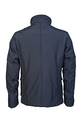 Armani Jeans Herren Jacke Caban Coat Blau