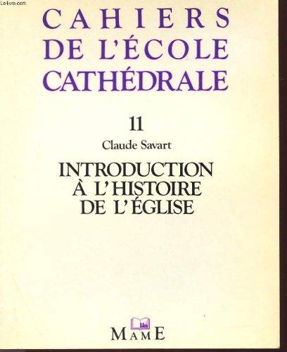 Introduction à l'histoire de l'Église