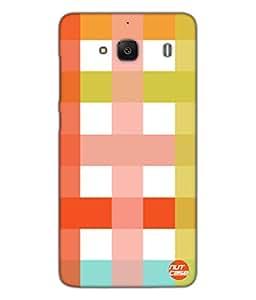Designer Xiaomi Redmi 2 Case Cover Nutcase-Colorful Checks