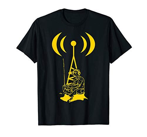 Licensed Ham Radio Operator Transmitter Antenna Design T-Shirt (Antenne Ham)