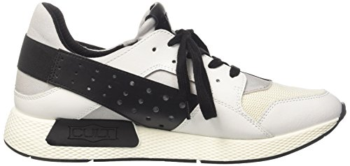 Cult Lemmy Low 1488, Sneakers basses homme Multicolore (White/Black)
