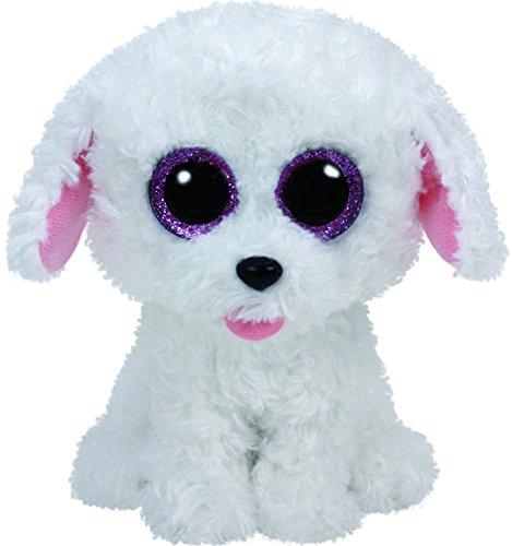"""Beanie Boo Dog - Pippie - White - 24cm 9"""""""