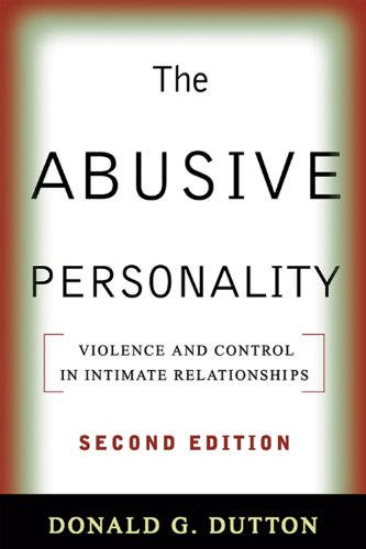 The Abusive Personality, Second Edition: Violence and Control in Intimate Relationships (English Edition) Aspect Control