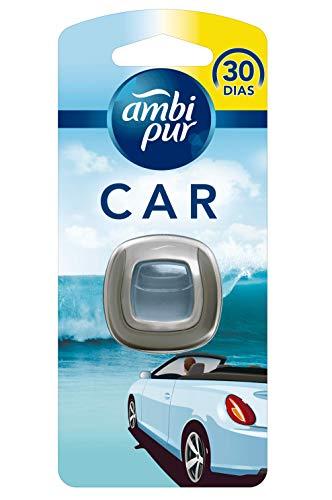 Ambi Pur Car Brezza Marina Deodorante per Auto con Clip - 1 Pezzo