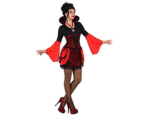 De Vampir Kostüm Femme (Atosa 22670 - Vampirin Kostüm, Größe M-L,)