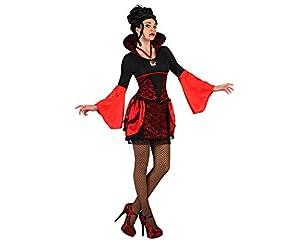Atosa-22669 Disfraz Vampiresa, Color rojo, XS (22669 (AmazonDe/ATOSB))