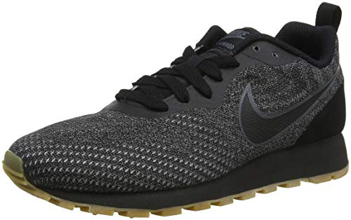 Nike Wmns Md Runner 2 Eng Mesh, Zapatillas de Running para Mujer, Multicolor (Black/Black-Dark Grey 005), 39 EU