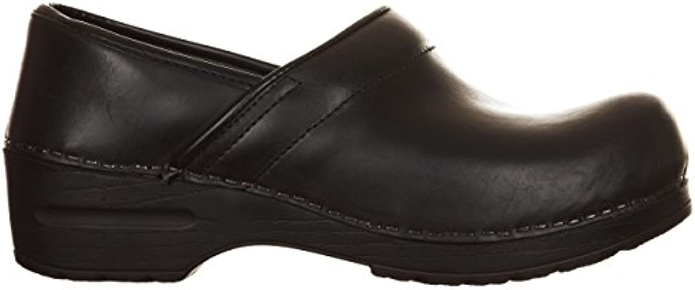 VialeScarpe Sas-7488vtne_39 Damen Clogs & Pantoletten  schwarz schwarz 39 EU schwarz - schwarz - Größe: 38 EU
