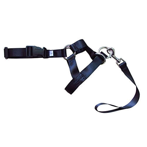 UxradG Hund Field Anti Leinenzug Seil Leine/Halfter Head Halsband Geschirr Soft Baumwolle Seil Sanftes Halfter Leine Leader für Training Hunde