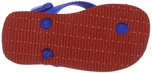 Havaianas Heroes, Tongs bébé garçon Multicolore (Ruby Red / 2090)